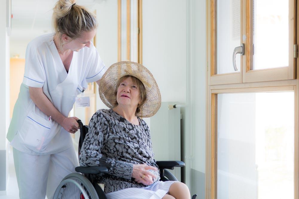 Aide-soignante de La Compassion à Chaumont