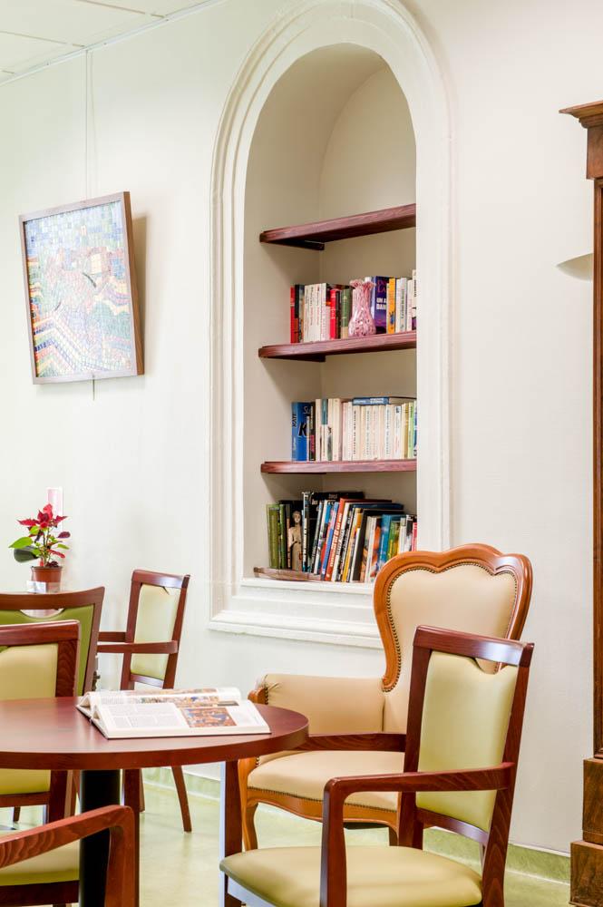 Espace dédié à la lecture