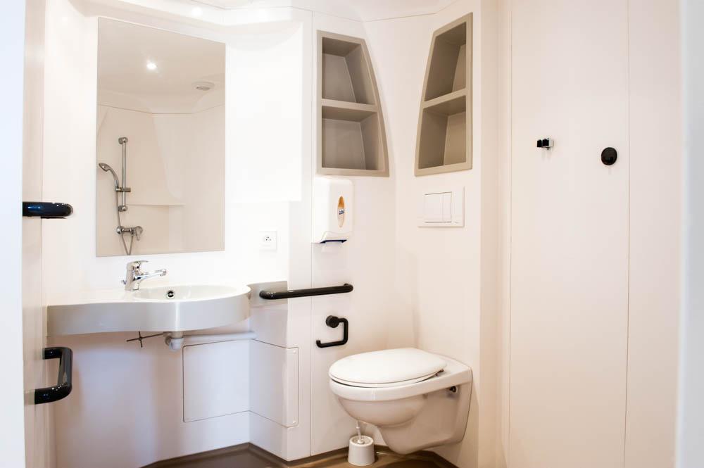 Toutes les chambres sont équipées de salles d'eau privatives