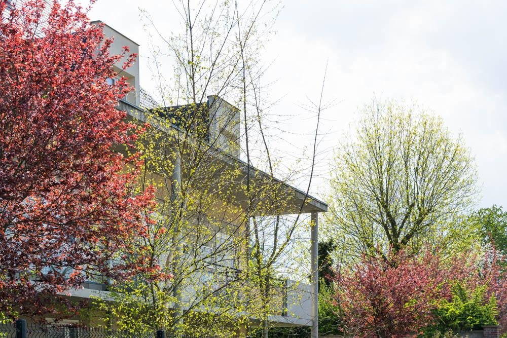 Un des bâtiments de La Compassion à Beauvais