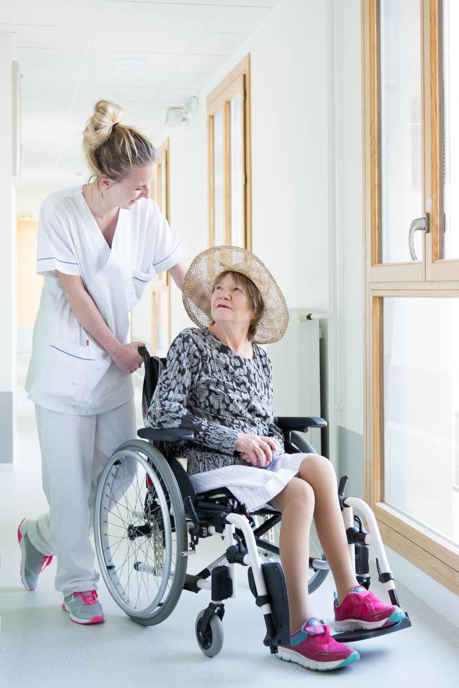 Accompagnement des résidants handicapés