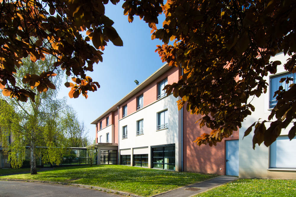 Le bâtiment d'une unité de La Compassion à Chaumont