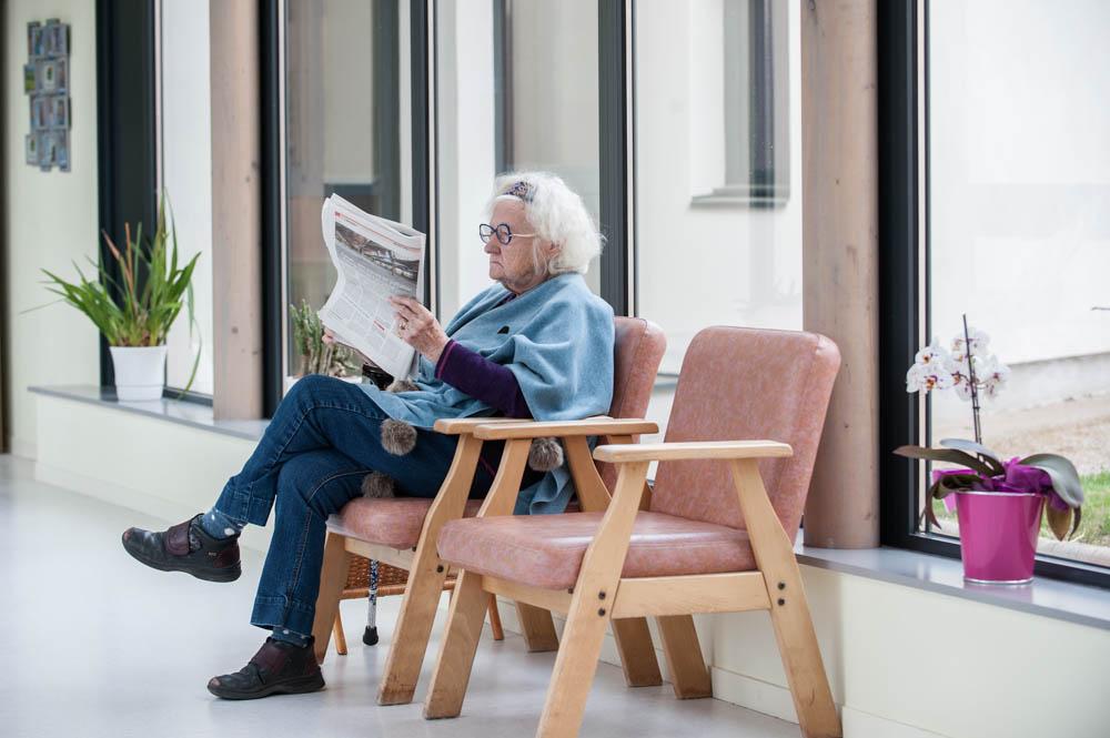 Moment de lecture, au calme