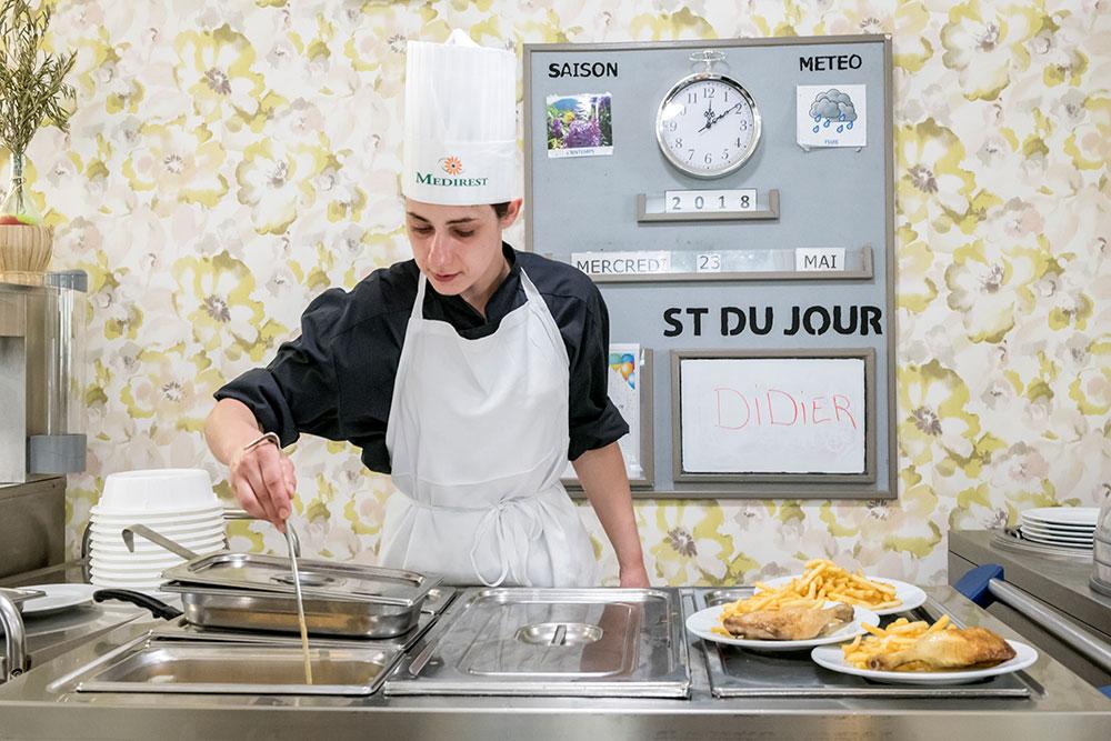 EHPAD St Domnin, service à l'assiette