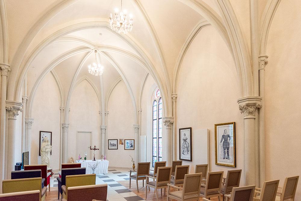 La chapelle de l'EHPAD Saint Domnin