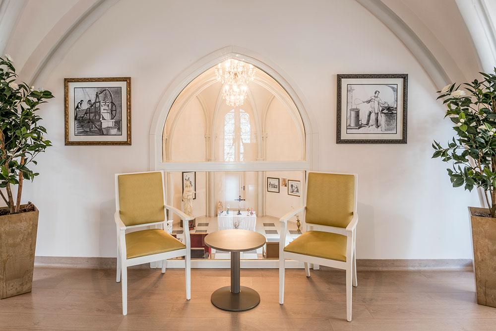 Un petit salon de l'EHPAD Saint-Domnin