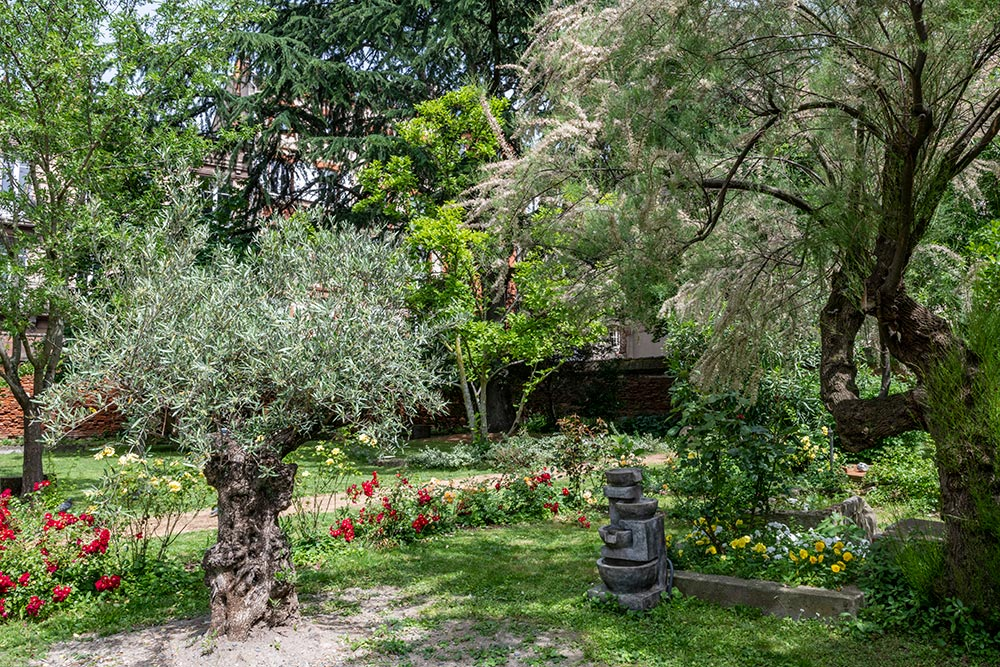 Jardin de l'EHPAD
